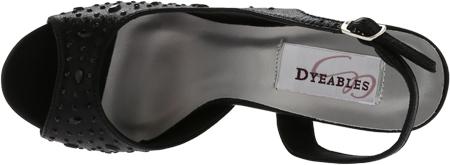 Women's Dyeables Skylar, Black Shimmer, large, image 5