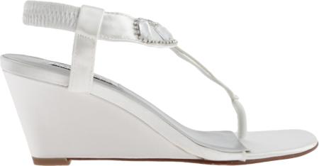 Women's Dyeables Mila, White Satin, large, image 2