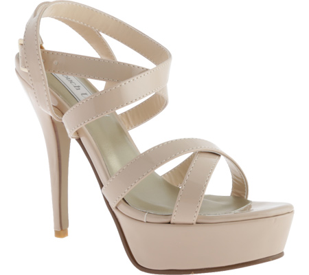 Women's Touch Ups Andrea, Nude Patent, large, image 1