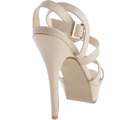 Women's Touch Ups Andrea, Nude Patent, large, image 4