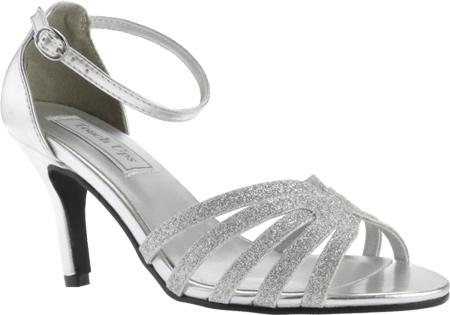 Women's Touch Ups Rapture Glitter Sandal, Silver Glitter, large, image 1