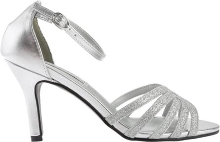 Women's Touch Ups Rapture Glitter Sandal, Silver Glitter, large, image 2