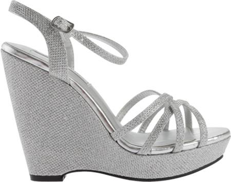 Women's Touch Ups Jaden Sandal, Silver Shimmer, large, image 2