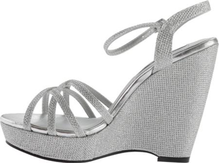 Women's Touch Ups Jaden Sandal, Silver Shimmer, large, image 3