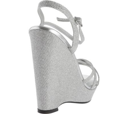 Women's Touch Ups Jaden Sandal, Silver Shimmer, large, image 4
