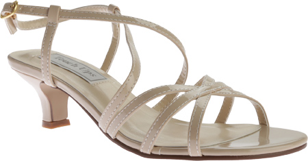Women's Touch Ups Eileen Strappy Sandal, Nude Patent PU, large, image 1