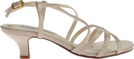 Women's Touch Ups Eileen Strappy Sandal, Nude Patent PU, large, image 2