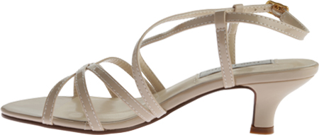 Women's Touch Ups Eileen Strappy Sandal, Nude Patent PU, large, image 3