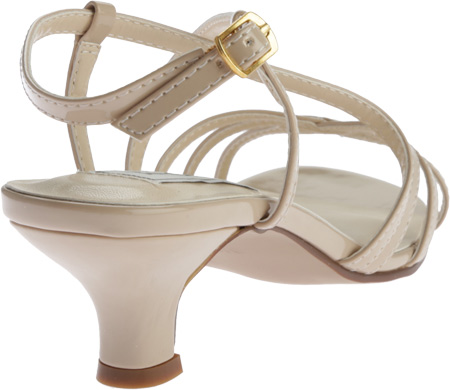 Women's Touch Ups Eileen Strappy Sandal, Nude Patent PU, large, image 4