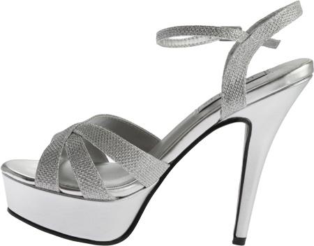 Women's Touch Ups Cori Platform Sandal, Silver Shimmer, large, image 3
