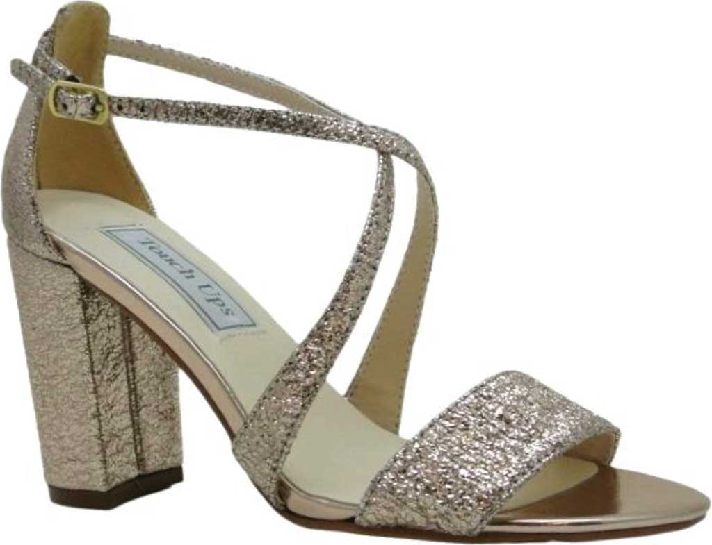 Women's Touch Ups Micah Strappy Sandal, Rose Gold Foil, large, image 1