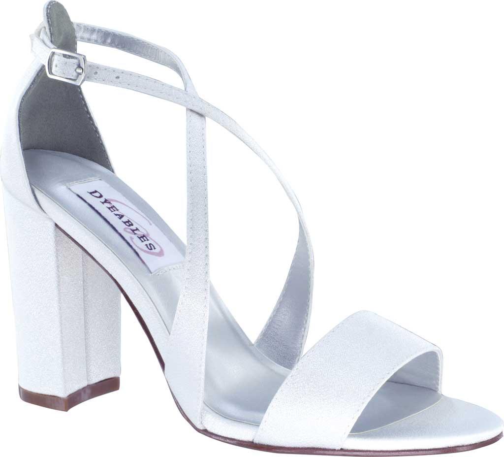 Women's Dyeables Micah Strappy Sandal, Diamond White Crepe, large, image 1