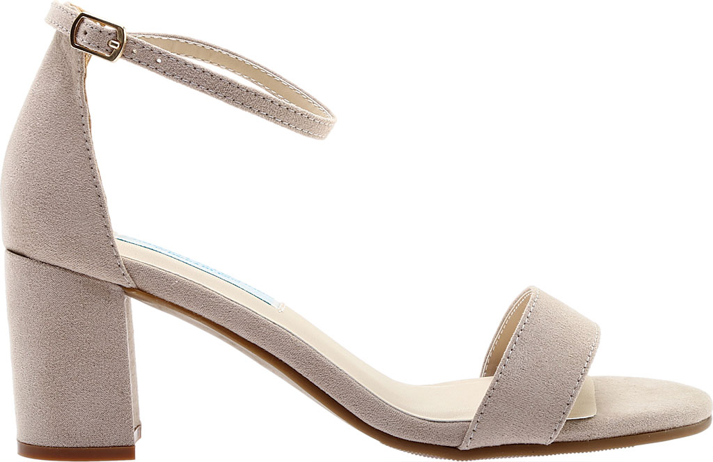 Women's Touch Ups January Sandal, Beige Suede, large, image 2