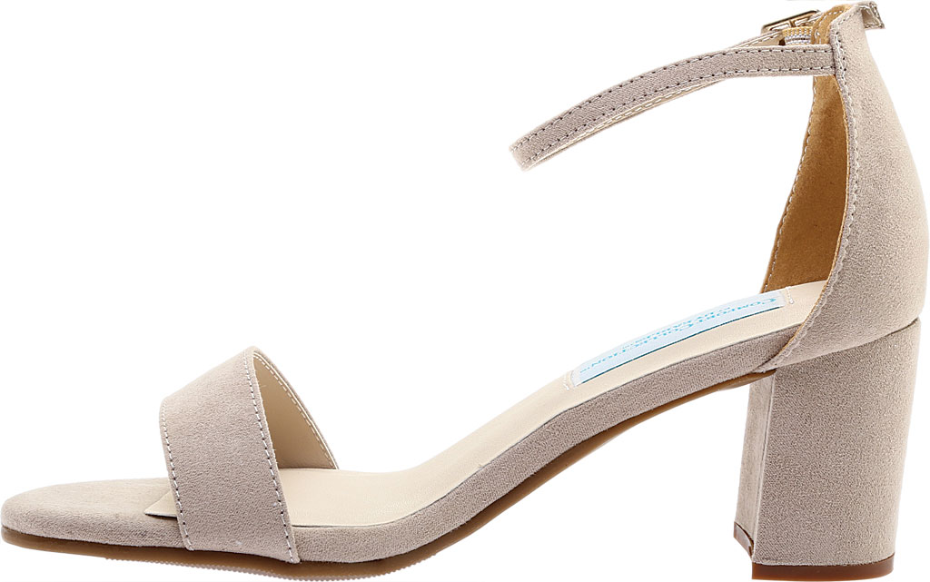 Women's Touch Ups January Sandal, Beige Suede, large, image 3