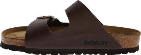 Birkenstock Arizona Birko-Flor Sandal, Brown Birko Flor, large, image 3