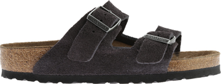 Birkenstock Arizona Suede with Soft Footbed, Velvet Gray Suede with Soft Footbed, large, image 2