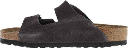 Birkenstock Arizona Suede with Soft Footbed, Velvet Gray Suede with Soft Footbed, large, image 3