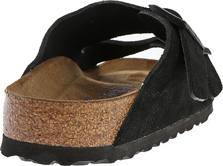 Birkenstock Arizona Suede with Soft Footbed, Black Suede with Soft Footbed, large, image 4