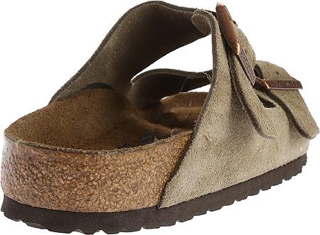 Birkenstock Arizona Suede with Soft Footbed, Taupe Suede with Soft Footbed, large, image 4