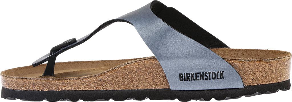 Women's Birkenstock Gizeh Birko-Flor Sandal, Onyx, large, image 3