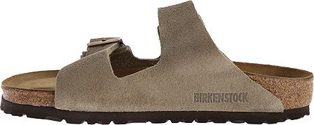 Birkenstock Arizona Suede Sandal, Taupe Suede, large, image 3