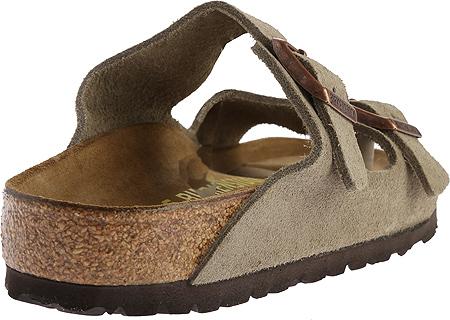 Birkenstock Arizona Suede Sandal, Taupe Suede, large, image 4