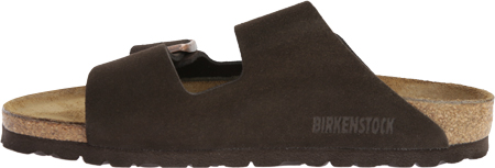 Birkenstock Arizona Suede Sandal, Mocha Suede, large, image 3