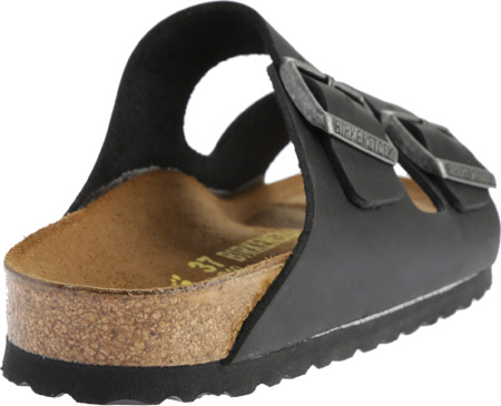 Birkenstock Arizona Oiled Leather, Black Oiled Leather, large, image 4