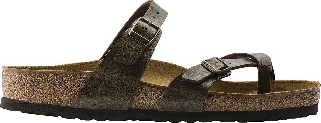 Women's Birkenstock Mayari Birko Flor, Golden Brown, large, image 2