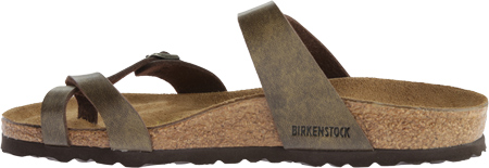Women's Birkenstock Mayari Birko Flor, Golden Brown, large, image 3