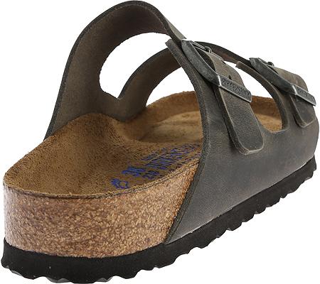 Birkenstock Arizona Soft Footbed Oil Leather Sandal, Iron Oiled Leather, large, image 4
