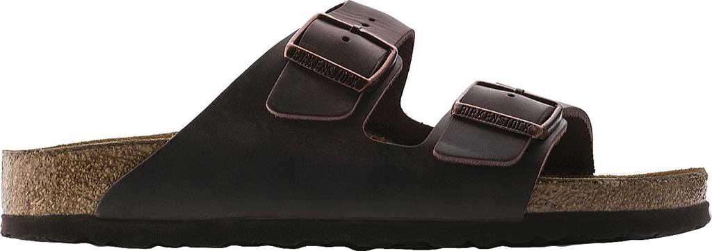 Birkenstock Arizona Soft Footbed Oil Leather Slide, Habana Oiled Leather, large, image 2