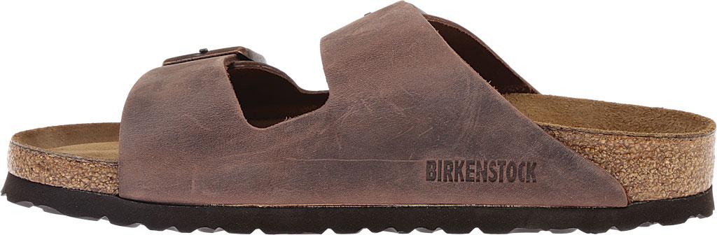 Birkenstock Arizona Soft Footbed Oil Leather Slide, Habana Oiled Leather, large, image 3