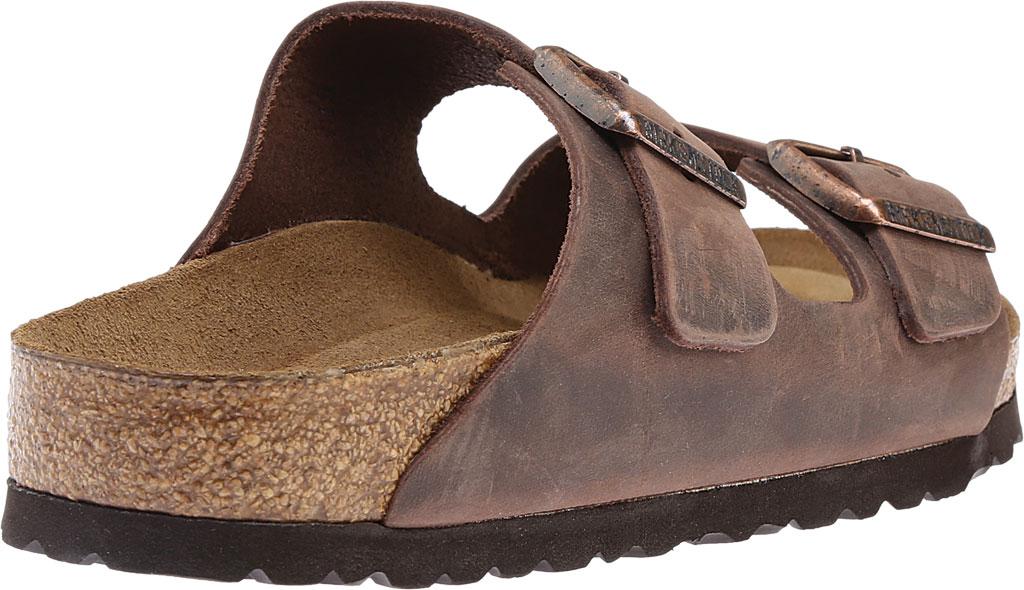 Birkenstock Arizona Soft Footbed Oil Leather Slide, Habana Oiled Leather, large, image 4