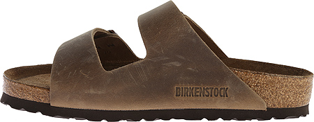 Birkenstock Arizona Soft Footbed Oil Leather Sandal, Tobacco Oiled Leather, large, image 3
