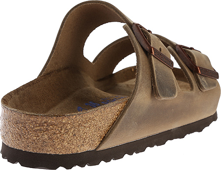 Birkenstock Arizona Soft Footbed Oil Leather Sandal, Tobacco Oiled Leather, large, image 4