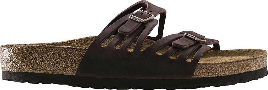 Women's Birkenstock Granada Soft Footbed, Habana Oiled Leather, large, image 2