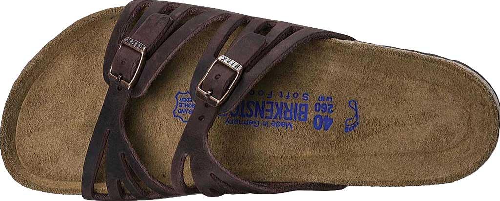 Women's Birkenstock Granada Soft Footbed, Habana Oiled Leather, large, image 5