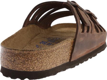 Women's Birkenstock Granada Soft Footbed, Habana Oiled Leather, large, image 4
