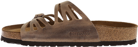 Women's Birkenstock Granada Soft Footbed, Tobacco Oiled Leather, large, image 3
