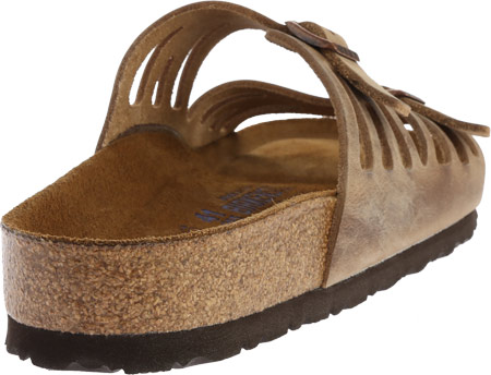 Women's Birkenstock Granada Soft Footbed, Tobacco Oiled Leather, large, image 4