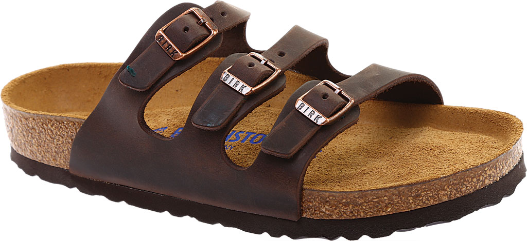 Women's Birkenstock Florida Oiled Leather with Soft Footbed, , large, image 1