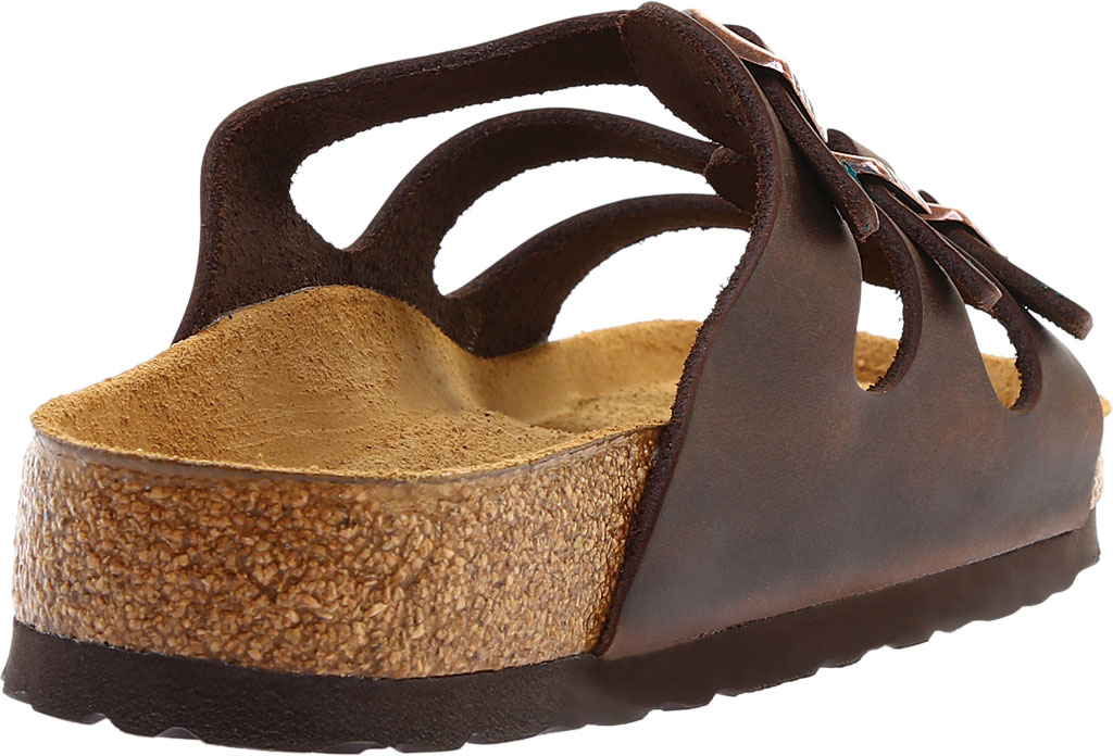 Women's Birkenstock Florida Oiled Leather with Soft Footbed, , large, image 4