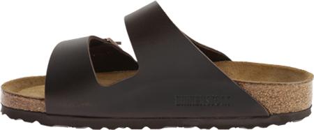 Birkenstock Arizona Amalfi Leather Sandal with Soft Footbed, Brown Amalfi Leather, large, image 3