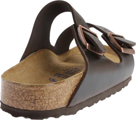 Birkenstock Arizona Amalfi Leather Sandal with Soft Footbed, Brown Amalfi Leather, large, image 4