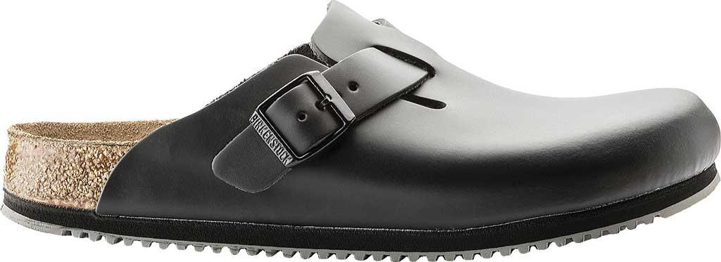 Birkenstock Boston Super Grip, Black Leather, large, image 2