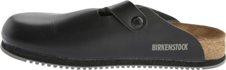 Birkenstock Boston Super Grip, Black Leather, large, image 3