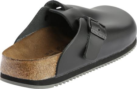 Birkenstock Boston Super Grip, Black Leather, large, image 4