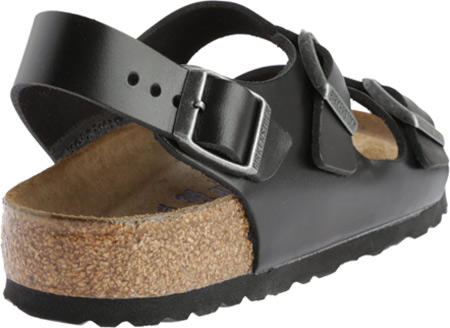 Birkenstock Milano Amalfi Leather with Soft Footbed, Brown Amalfi Leather, large, image 4
