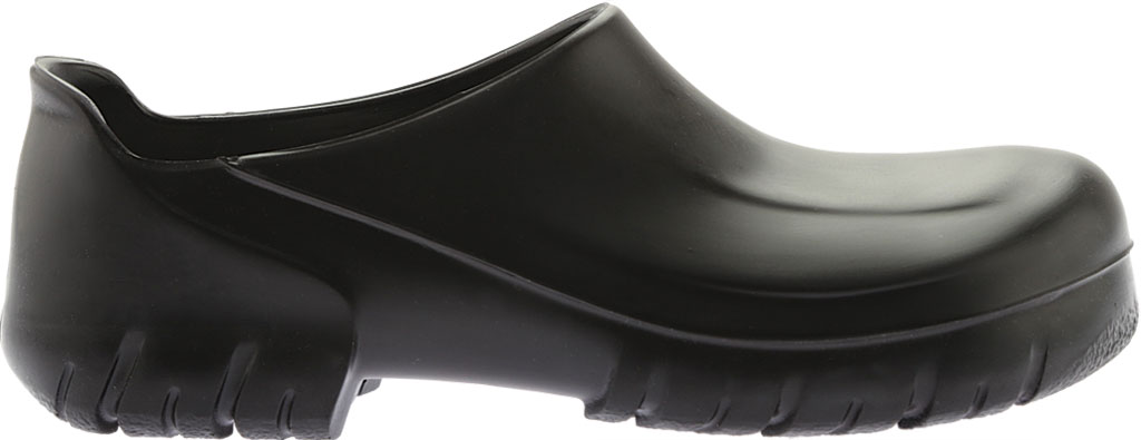 Birkenstock A 640 Steel Toe Slip On Shoe, Black Polyurethane, large, image 2